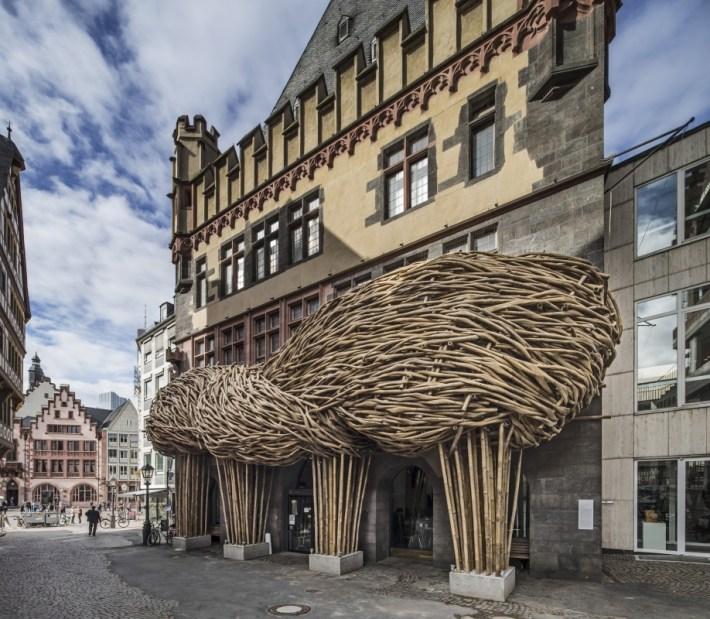 Bambus-Konstruktion Frankfurt