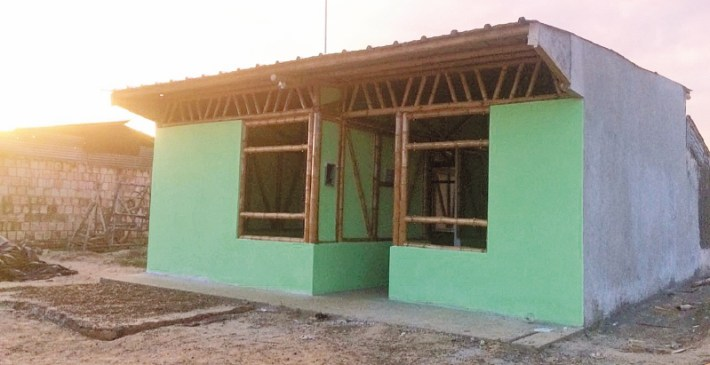 casa de bambu guadua en Leticia