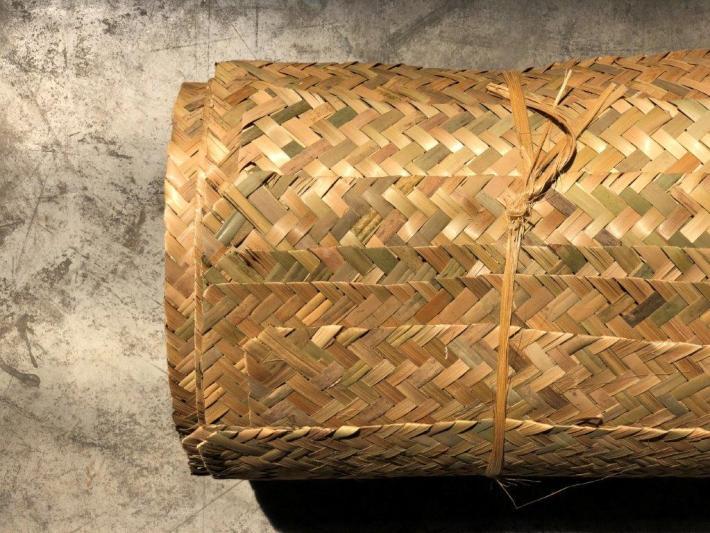 Dekorative Bambus-Flechtmatte com Bambushandel CONBAM
