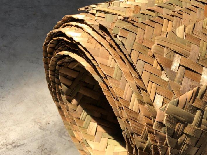 geflochtene Bambusmatte aus Bambusstreifen von CONBAM