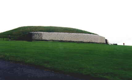 Looking at Newgrange