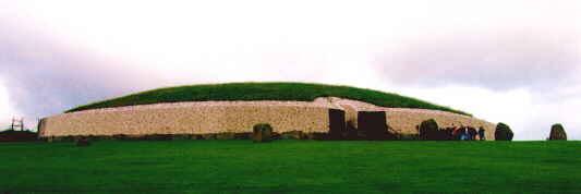 Newgrange with just a little more colour