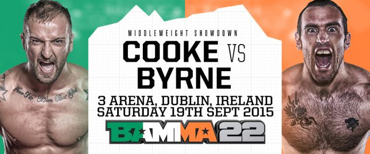 Paul Byrne looking to create some waves at BAMMA 22