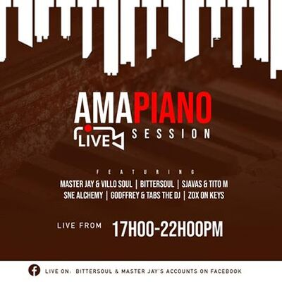 Sjavas Da Deejay & Tito M – Amapiano Live Session