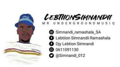 Lebtion Simnandi – Sphusha Umjaivo One Way Vol 21 Mix
