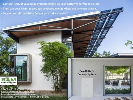 BAM Solar and Battery Backup Systems
