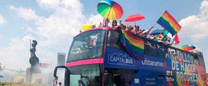 Se une Citibanamex a las festividades del orgullo LGBTI en Guadalajara, Monterrey y Ciudad de México