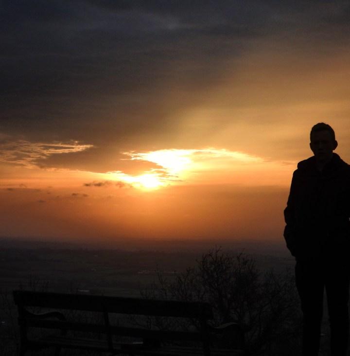 Sunset from Wotton Hill