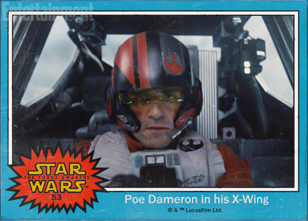 Star-Wars-O-Despertar-da-Forca-cards-Poe-Dameron