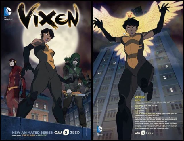 Vixen -- Image: VIX_PROMO__s_1.2 -- Pictured: Vixen on CW Seed -- Photo: The CW -- © 2015 The CW Network, LLC. All Rights Reserved