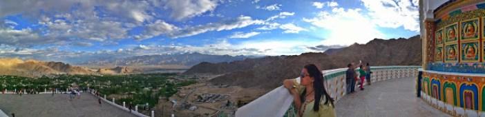 The Panorama (Shanti Stupa)