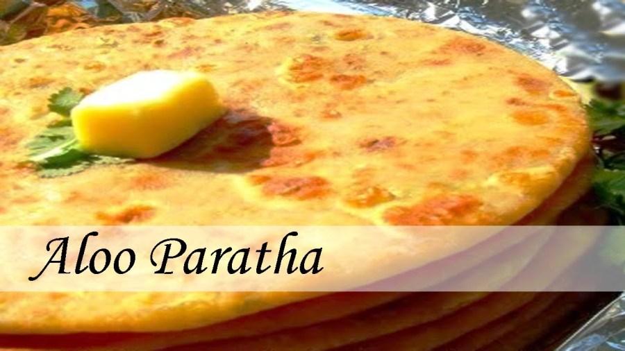 The exotic Aloo Paratha in Punjabi style