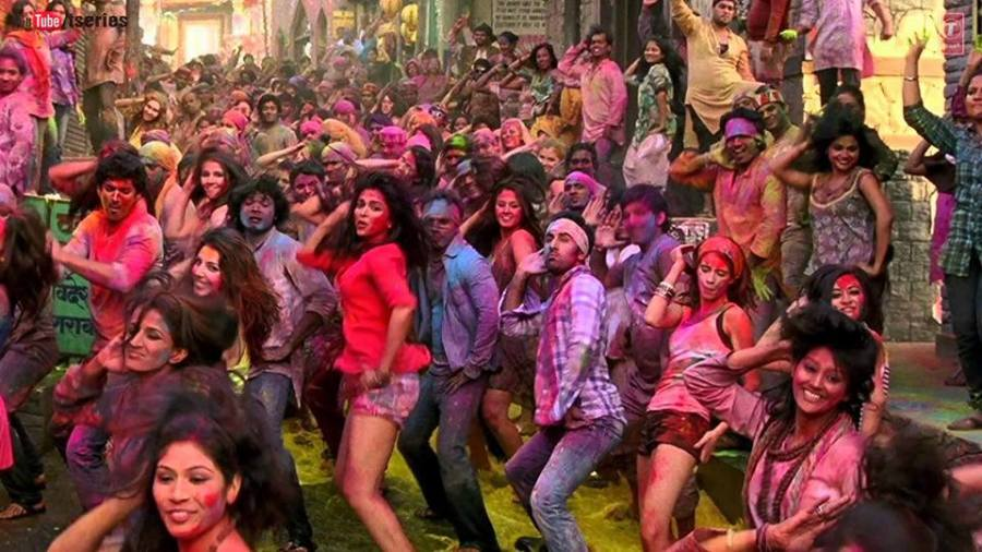 Dancing on Bollywood Tunes