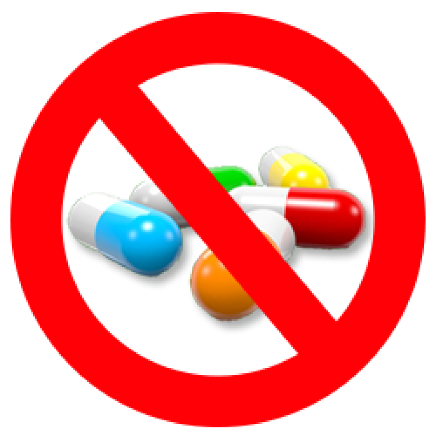 Say no to medicines