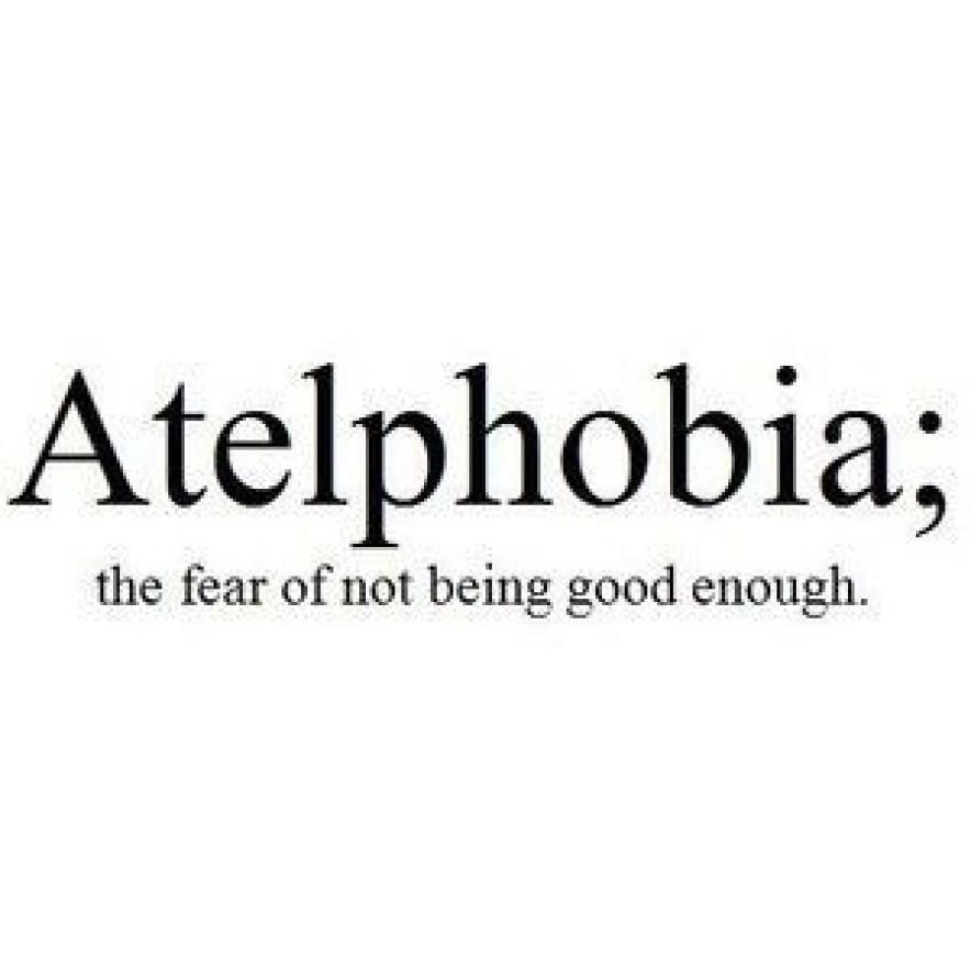 I am not good enough