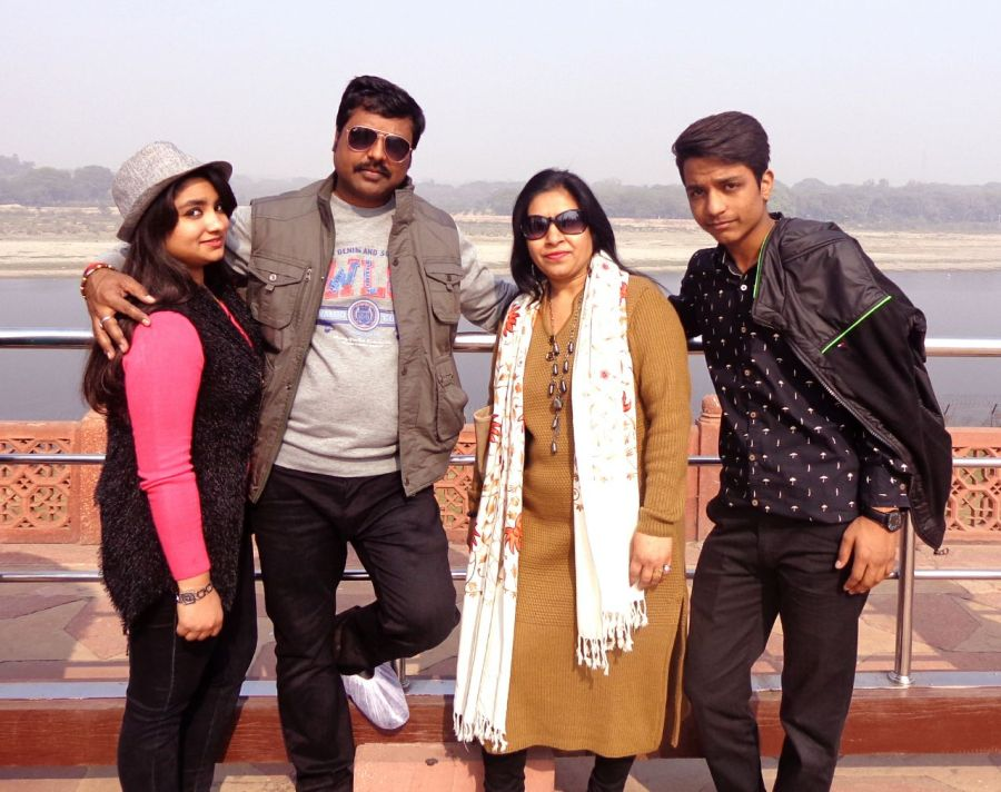 Sanjay Soni With His Beautiful Family