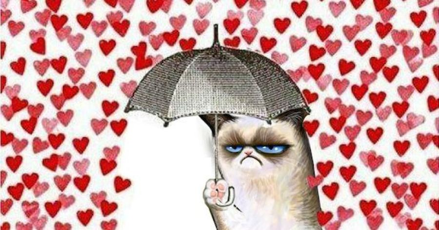 NOT getting drenched in the shower of love