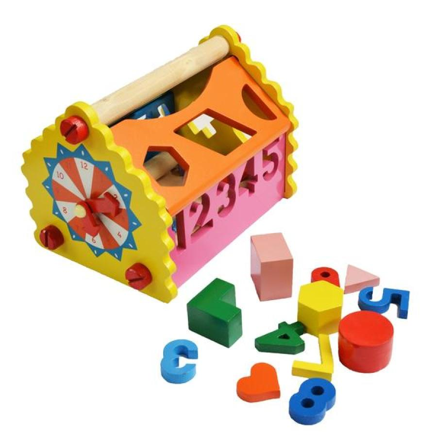 Kids can play with numbers, alphabets and also learn time