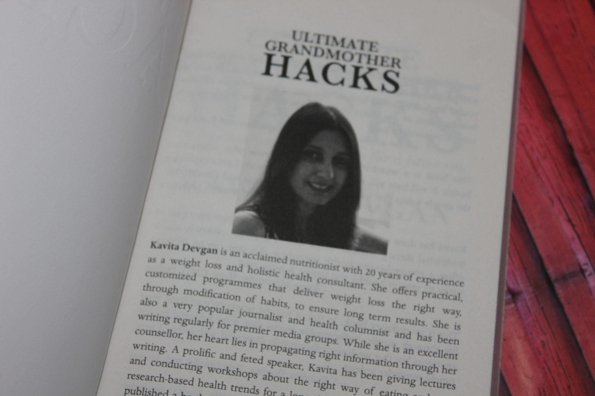 Ultimate Grandmoother hacks by Kavita Devgan