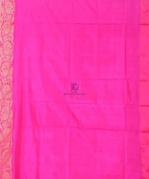 Banarasi Pure Katan Silk Handloom Silk Red Saree 6