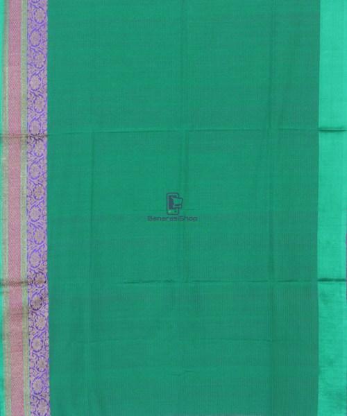 Banarasi Pure Handloom Dupion Silk Taffy Pink Saree 5