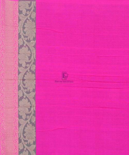 Banarasi Pure Handloom Dupion Silk Black Saree 6
