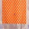 Banarasi Art Silk Orange Dupatta 7