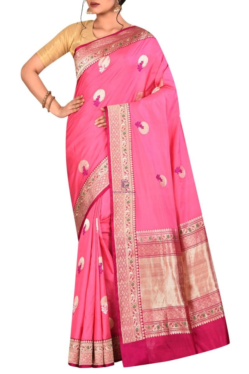 Pure Banarasi Katan Silk Handloom Saree 1