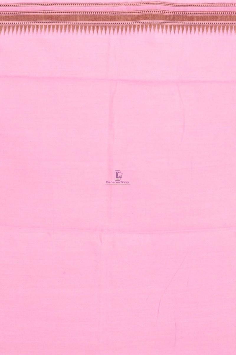 Pure Woven Banarasi Dupion Silk Saree with Unstitched Blouse Fabric 4