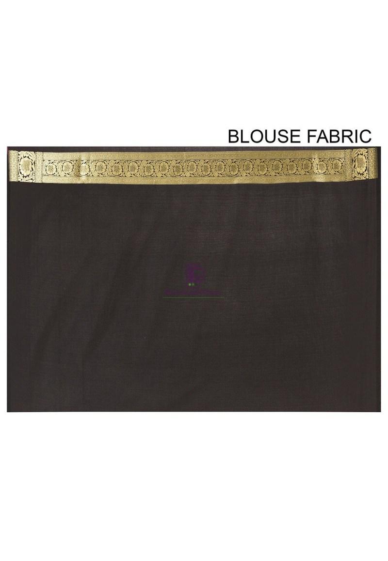 Banarasi Saree in Black 3
