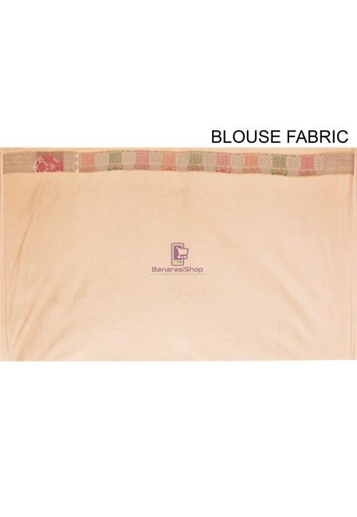 Woven Cotton Silk Saree in Beige 7