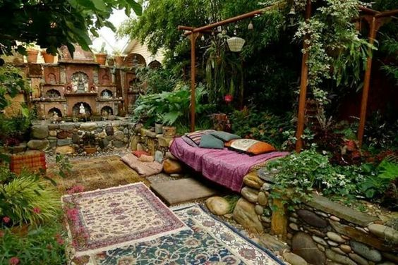 DIY Outdoor Meditation Area on Meditation Patio Ideas  id=85326