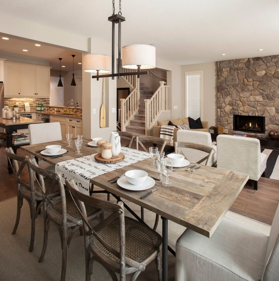 Rustic Home Decor  The Fail safe Guide rustic dining room