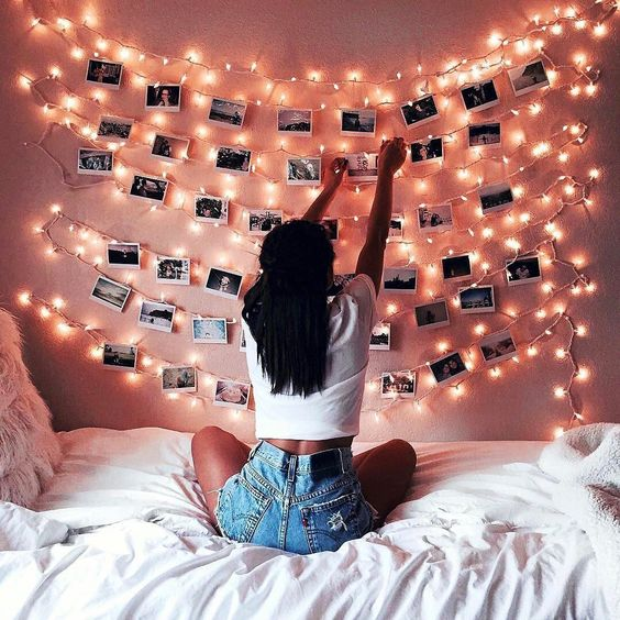 8 steps to an instagrammable dorm room on Fairy Lights In Dorm Room id=16081