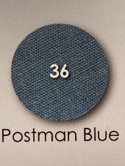 Post Blue Percale