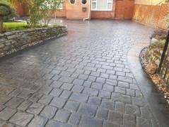 imprinted concrete driveway banbury