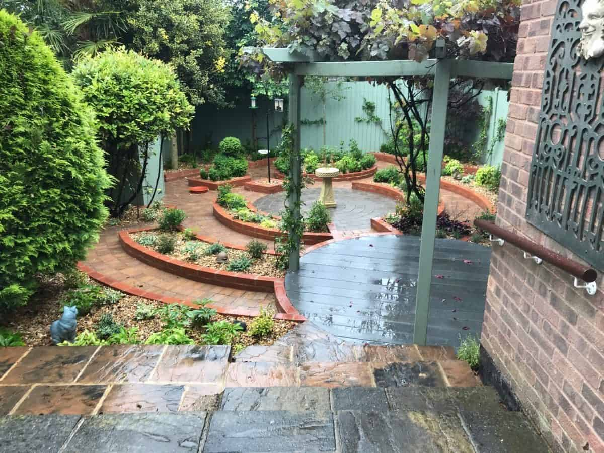 Banbury Courtyard Garden Makeover