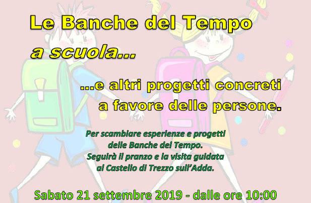 (Italiano) Le Banche del Tempo a scuola, un evento imperdibile!!