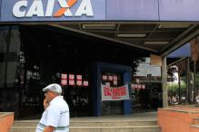 Caixa São Braz em greve