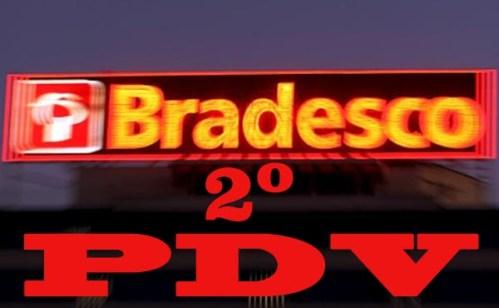Logo do Bradesco em Osasco, perto de São Paulo