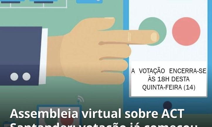 VOTAÇÃO SANTANDER
