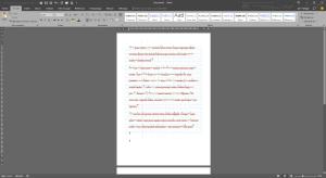 Insertion d'une image de fond avec texte au-dessus