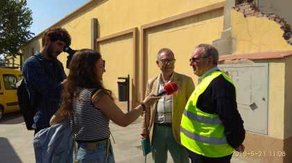 Visita del BA Granada a Ceuta
