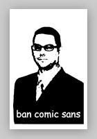 ban comic sans!