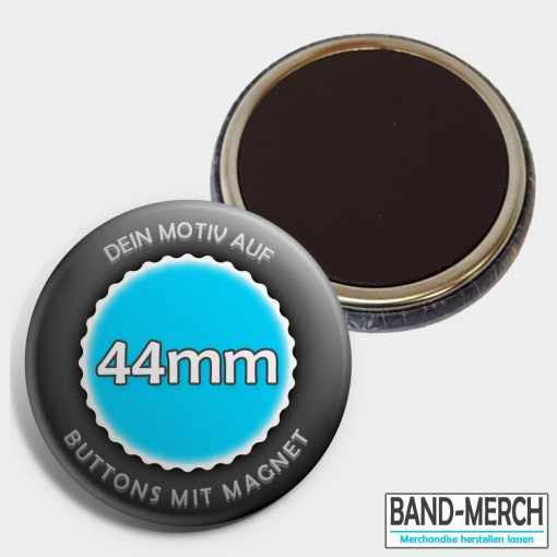44mm Buttons mit Magnet