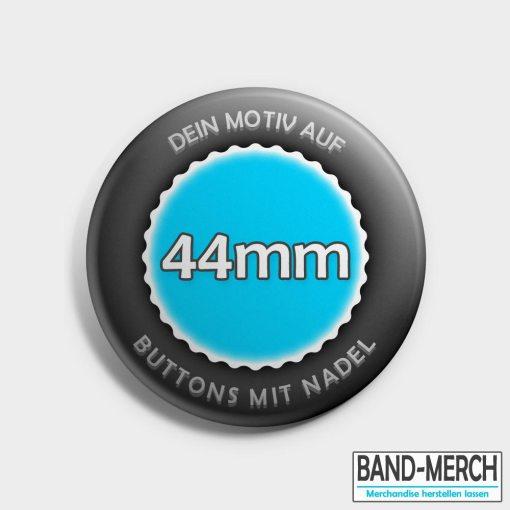 44mm Buttons mit Nadel vorne
