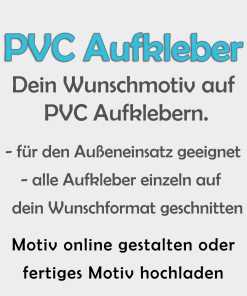 PVC-Folien Aufkleber