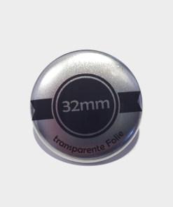 32mm silber buttons