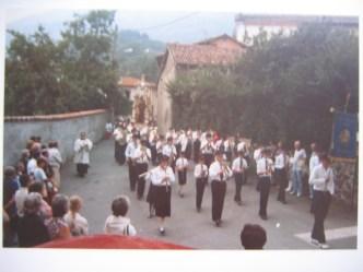 Cremeno - Processione San Rocco anni 70