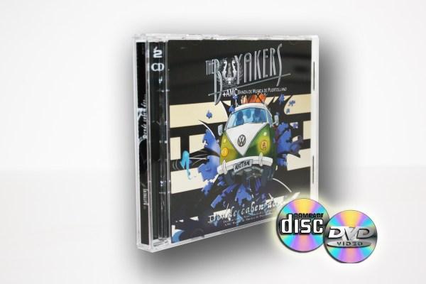 CD+DVD Concierto Sinfónico - The Buyakers + AMC Banda de Música de Puertollano